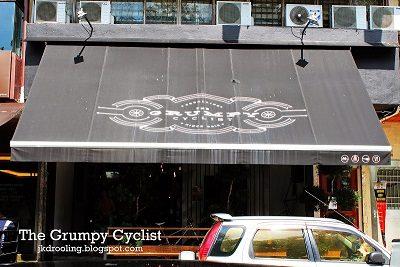 Grumpy Cyclist TTDI rhymba hills tea